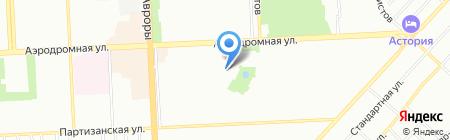 Проспект на карте Самары