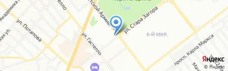 Дива на карте Самары