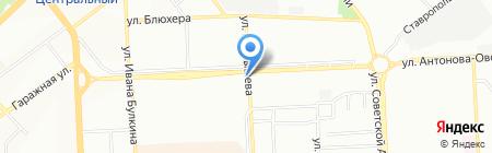 Крез-2 на карте Самары