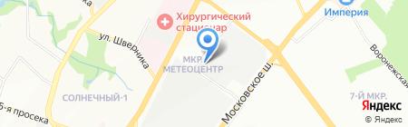 Колор Трэвел на карте Самары