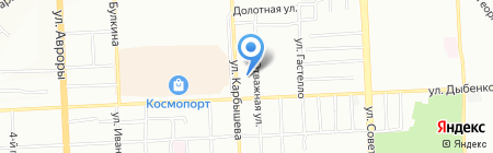 Самарский областной учебный комбинат на карте Самары