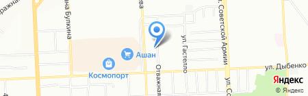 Универсалстрой на карте Самары