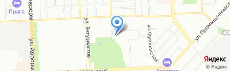 Бирюсинка на карте Самары