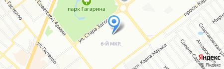 Алтей на карте Самары