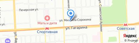 Крит-GPS на карте Самары