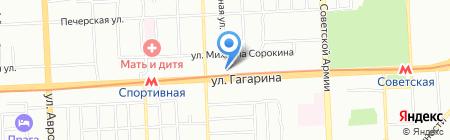 АСМ на карте Самары