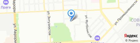 Детский сад №315 на карте Самары