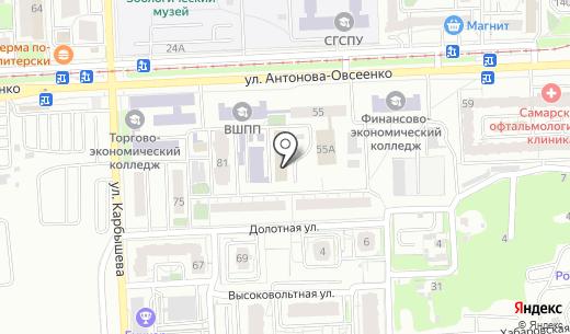 Офиссеть. Схема проезда в Самаре