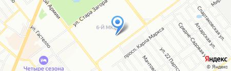 Детский сад №74 на карте Самары