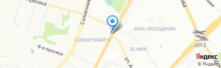 Имплозия на карте Самары