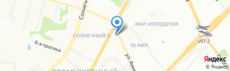 АВС на карте Самары
