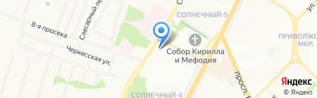 Центр профессиональной подготовки на карте Самары