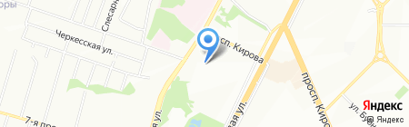 Детский сад №153 на карте Самары