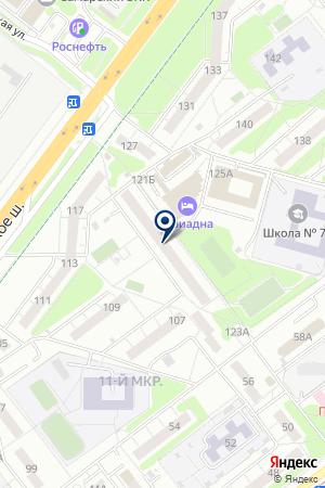 FORMULA ВОРОТ на карте Самары