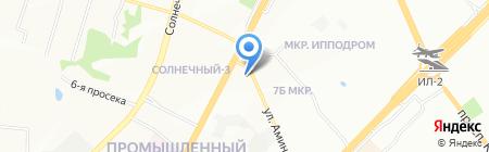 Элен на карте Самары