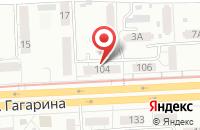 Схема проезда до компании Агни в Самаре