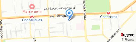 Перфекто на карте Самары