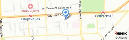 Арт-групп на карте Самары