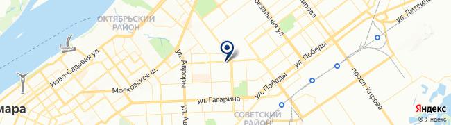 Расположение клиники Клиника Флоровой на Антонова-Овсеенко