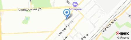 ЕВРОТРЕЙД на карте Самары