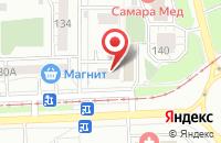 Схема проезда до компании Капитал-Мет в Самаре
