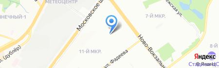 Средняя общеобразовательная школа №78 на карте Самары