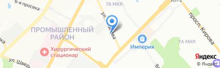 Хац Хаус на карте Самары