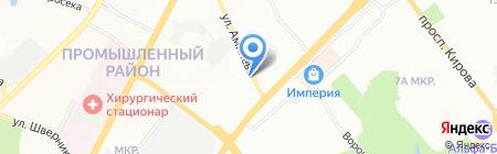Юнико на карте Самары