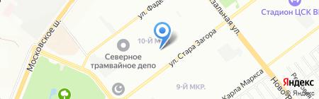 Детский сад №465 на карте Самары