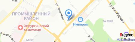 Квартирникъ на карте Самары