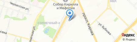 Аквастэп на карте Самары