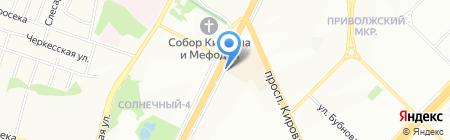 Печать на карте Самары