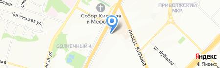 Юлия на карте Самары