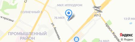АвтоГрузХолдинг на карте Самары