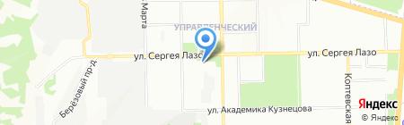 Отдел по ЖКХ на карте Самары
