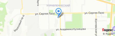 ВолгаОптикаЛинСтрой на карте Самары