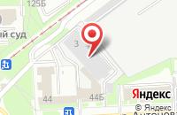 Схема проезда до компании Алгоритм Безопасности в Самаре