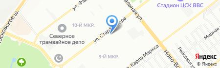 Аквафор на карте Самары