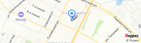 МЖК-1 на карте Самары
