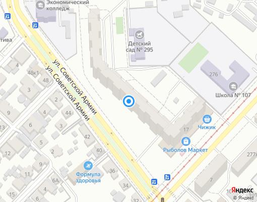 Товарищество собственников жилья «Современник» на карте Самары