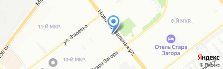 Пони-Текстиль на карте Самары
