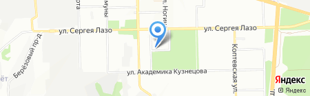 Мураж на карте Самары