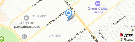 Аксида Солюшенз на карте Самары