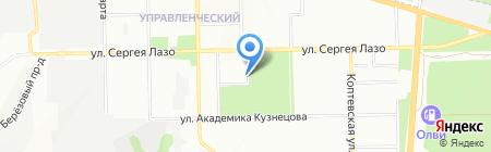Аскомед на карте Самары