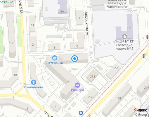 Товарищество собственников недвижимости «ТСЖ Севастопольский» на карте Самары