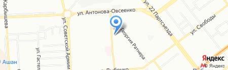 Посадский на карте Самары