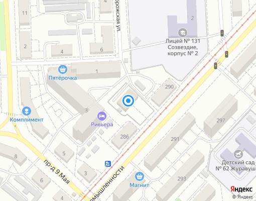 Управляющая компания «Жилищно-коммунальная система» на карте Самары
