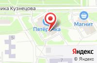 Схема проезда до компании Красная Поляна в Самаре