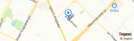Трек на карте Самары
