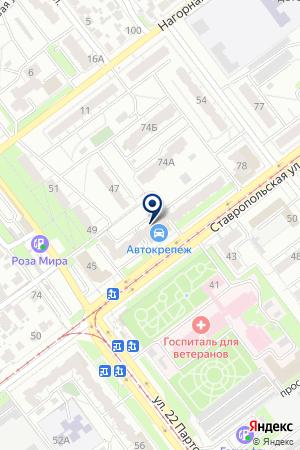 TOUR WESTLINE на карте Самары